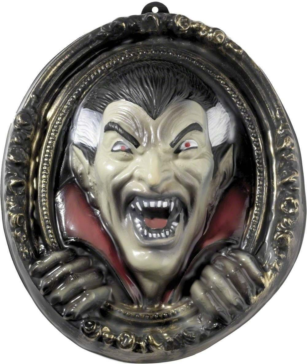 Vampire Wall Plaque - Fancy Dress (Halloween)