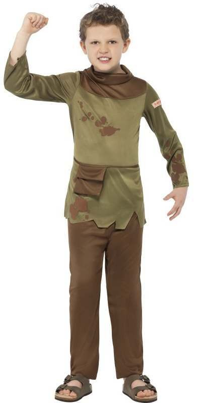 Boys Horrible Histories Revolting Peasant Fancy Dress Costume