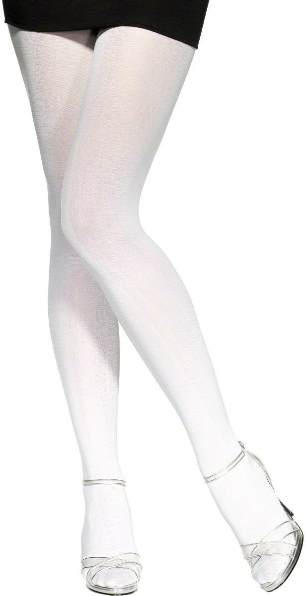 Tights White - Fancy Dress Ladies