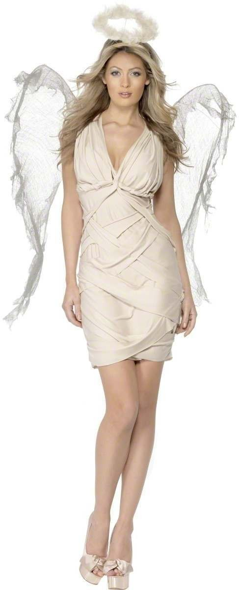 Fallen Angel Fancy Dress Costume Ladies (Halloween)
