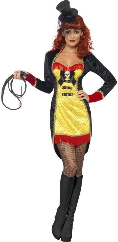 Cirque Sinister Sinful Ringmaster Fancy Dress Costume