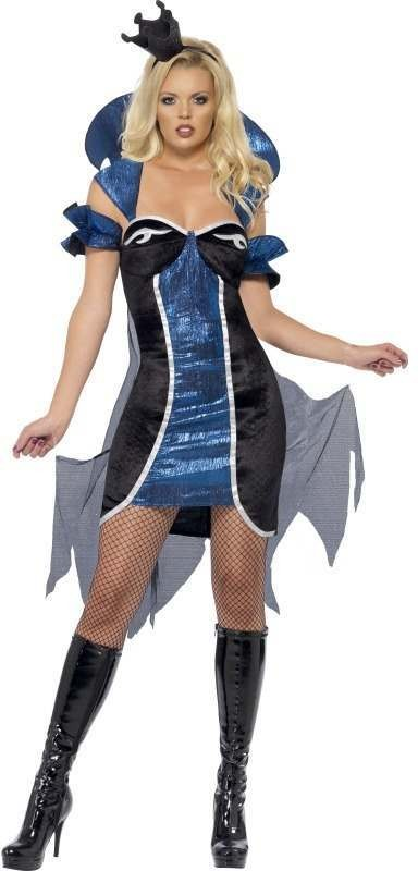 Fever Evil Queen Fancy Dress Costume