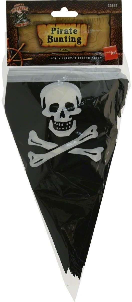 Pirate Flag Bunting - Fancy Dress (Pirates)