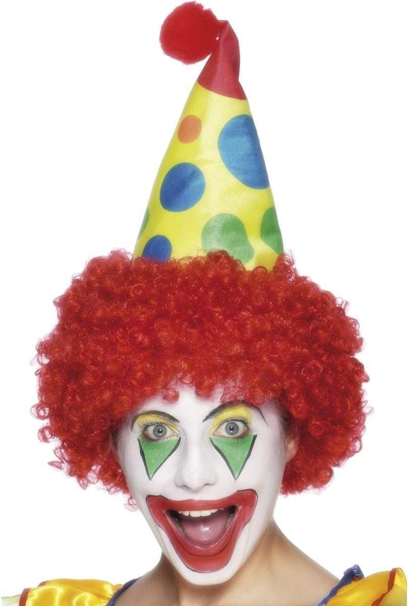 Clown Hat - Fancy Dress (Clowns)