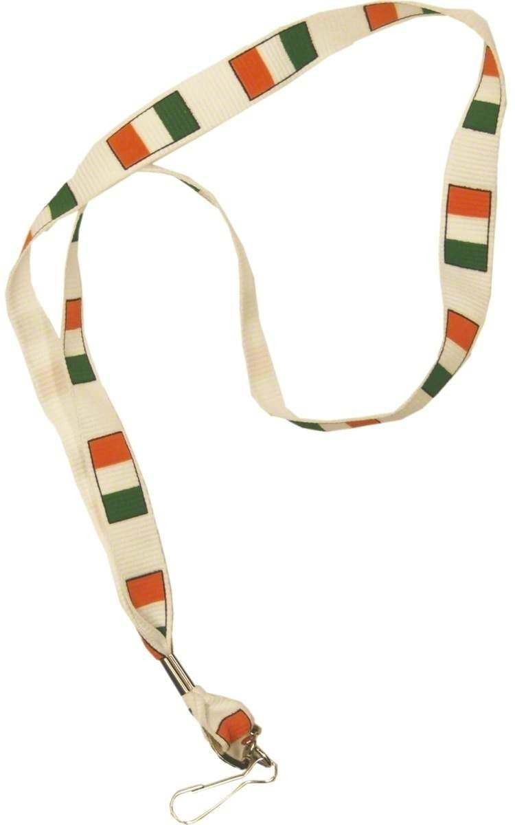 Irish Flag Lanyard - Fancy Dress