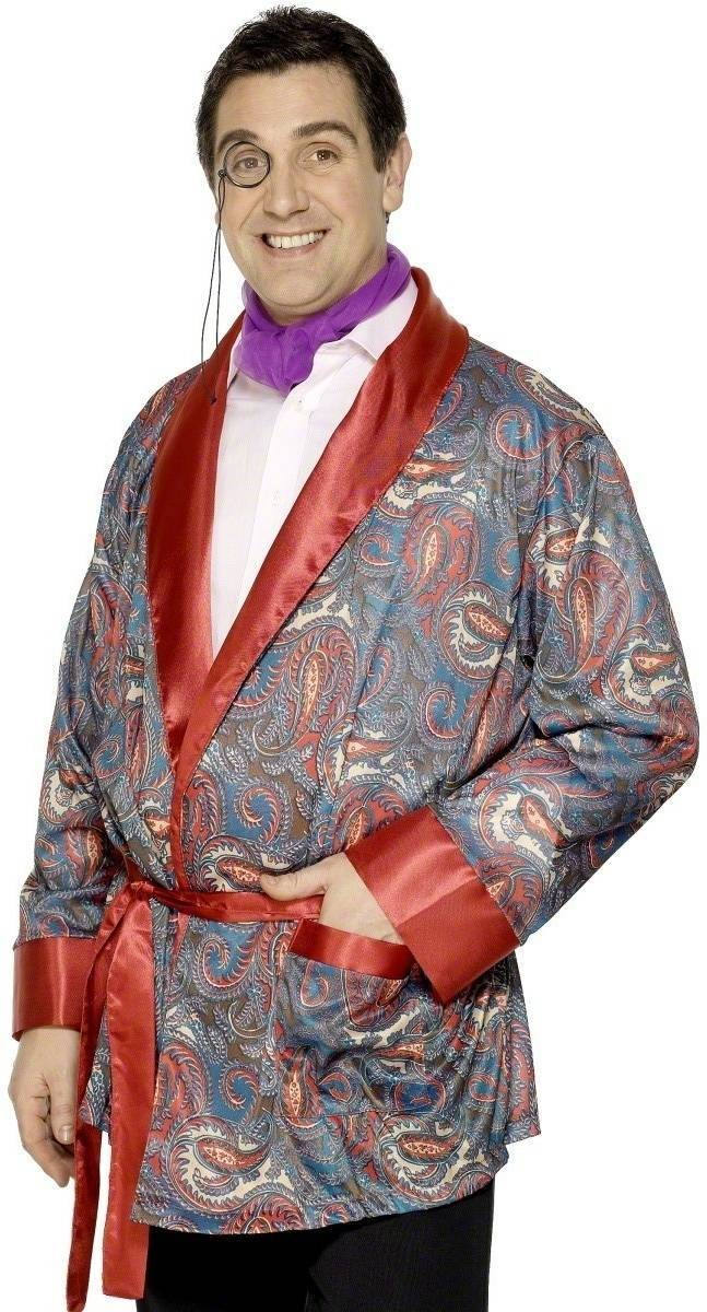Smoking Jacket - Fancy Dress Mens