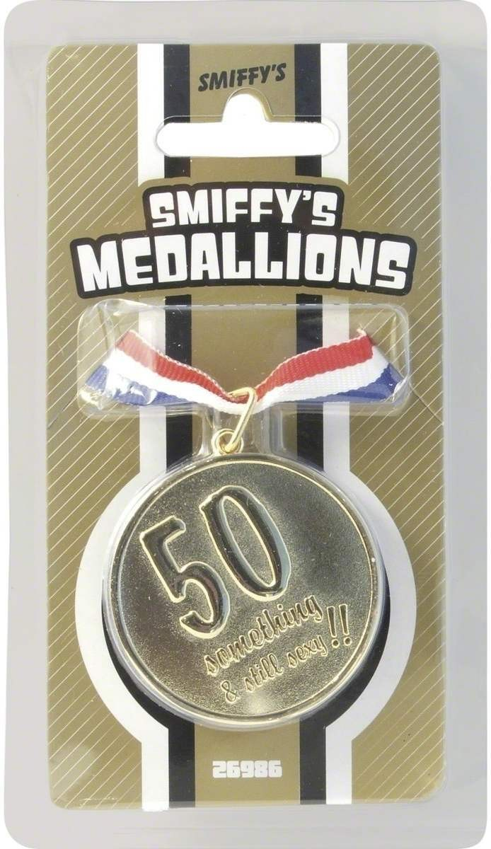 50 Something & Still Sexy Medallion - Fancy Dress (Sexy)