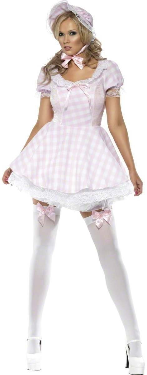 Fever Bo Peep Sexy Fancy Dress Costume Ladies (Sexy)