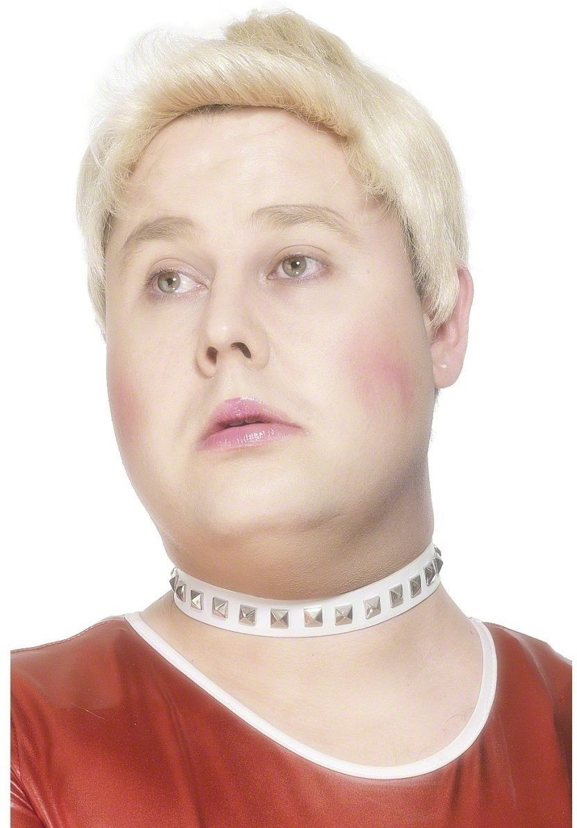 Daffyd'S Collar And Bracelet Set - Fancy Dress Mens (Sexy , Tv)