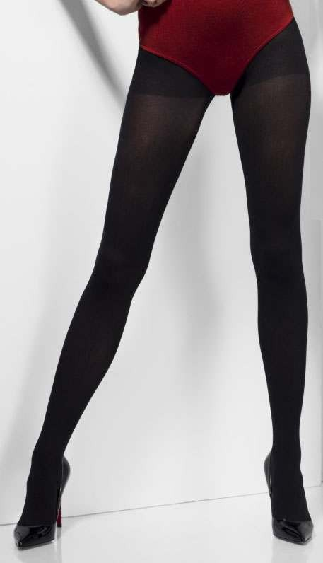 Ladies Black Opaque Tights