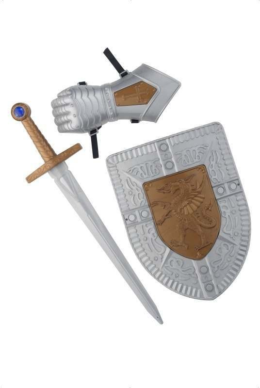 Knight Of The Realm Set (Fancy Dress Swords/Knives)