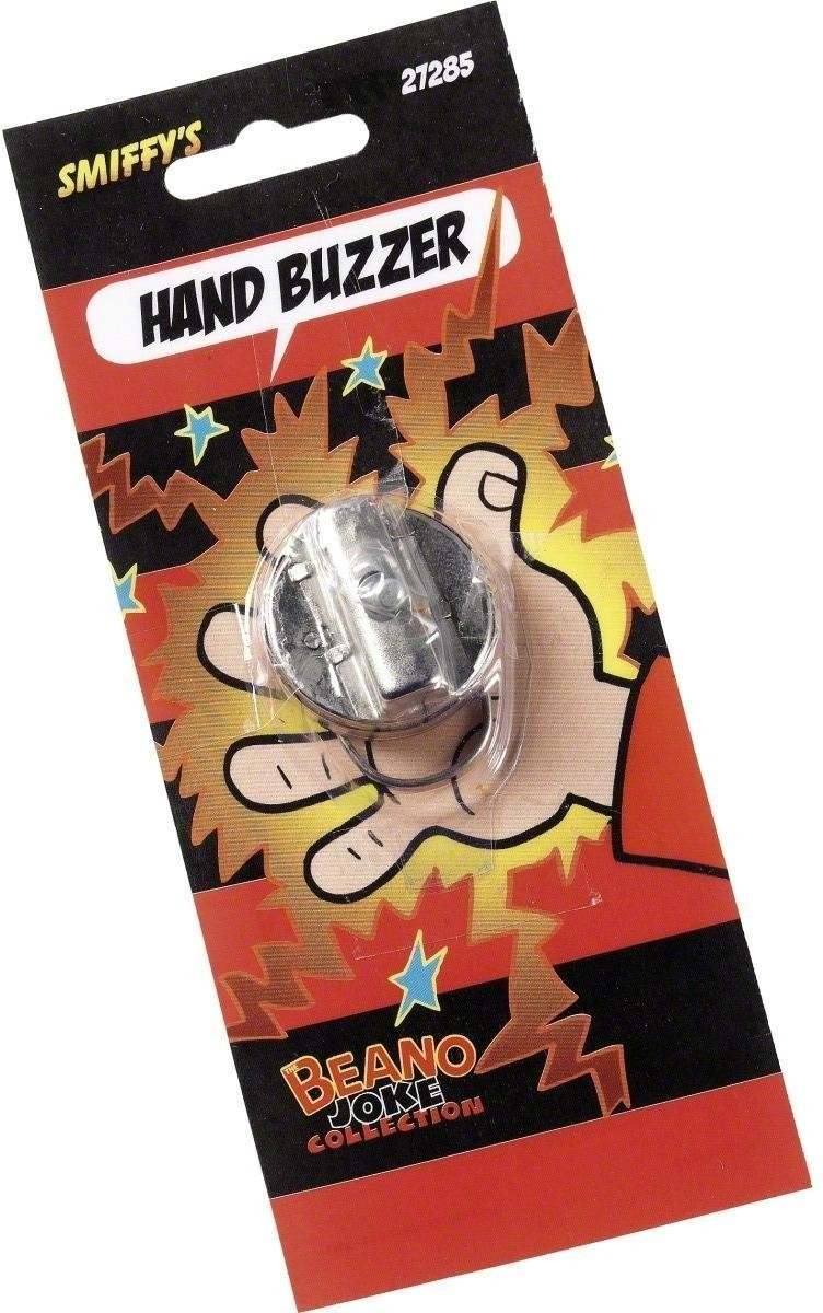 Hand Buzzer - Fancy Dress (Cartoon)