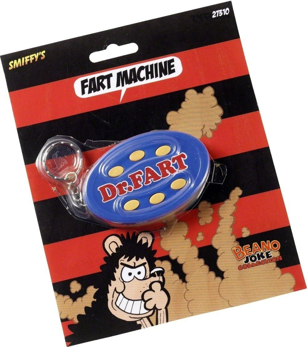 Dr Fart Keyring - Fancy Dress (Cartoon)