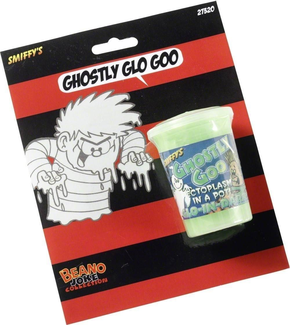 Glow In The Dark Ghostly Goo Slime - Fancy Dress (Cartoon)