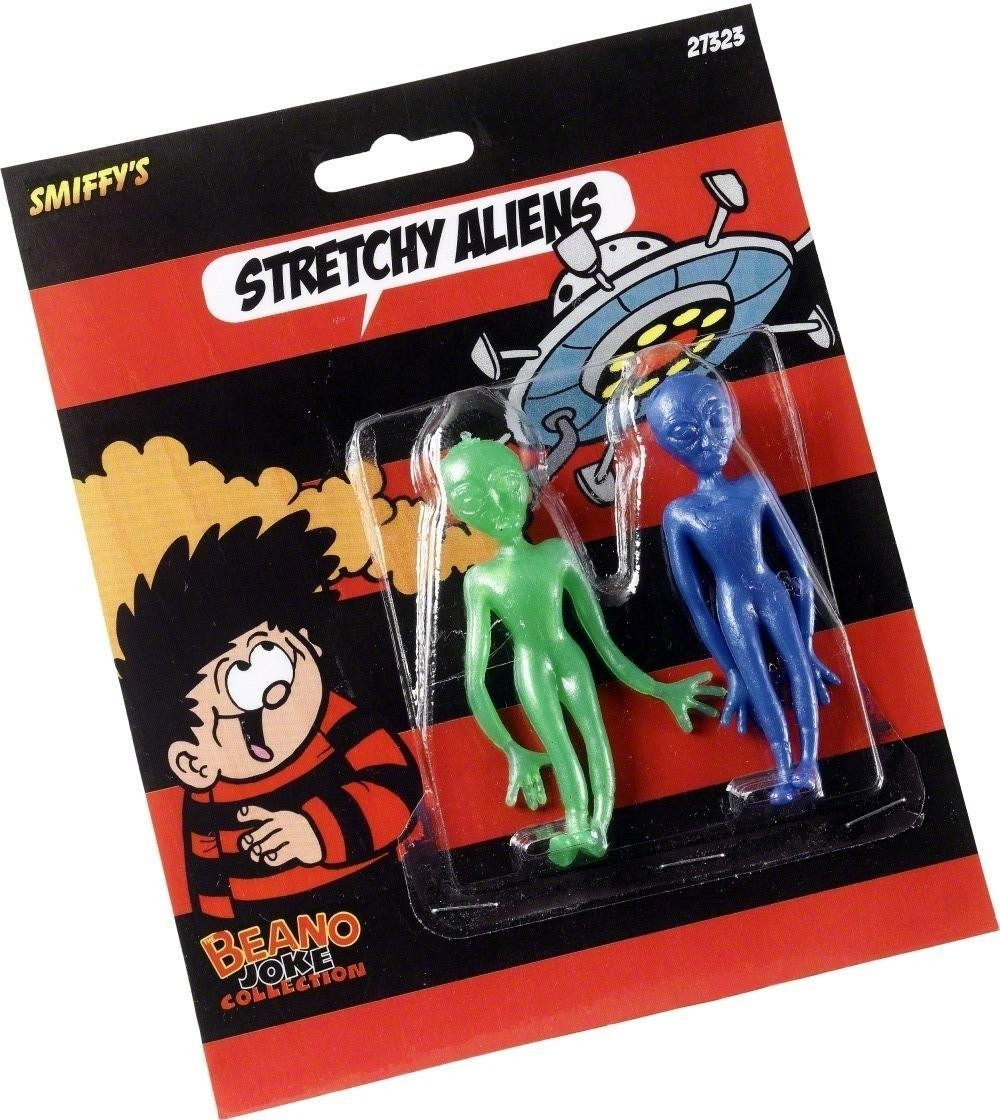 Stretch Aliens - Fancy Dress (Cartoon)