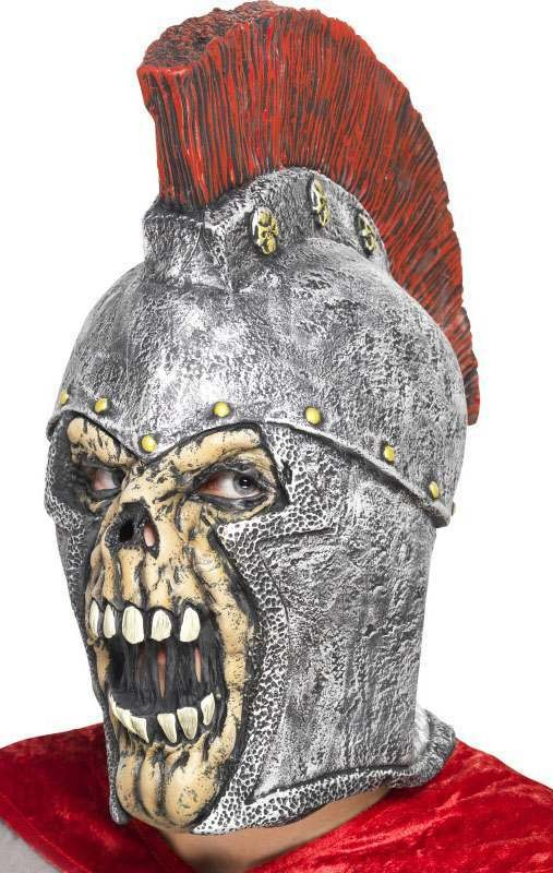 Roman Soldier Skeleton Mask(Fancy Dress Accessory)