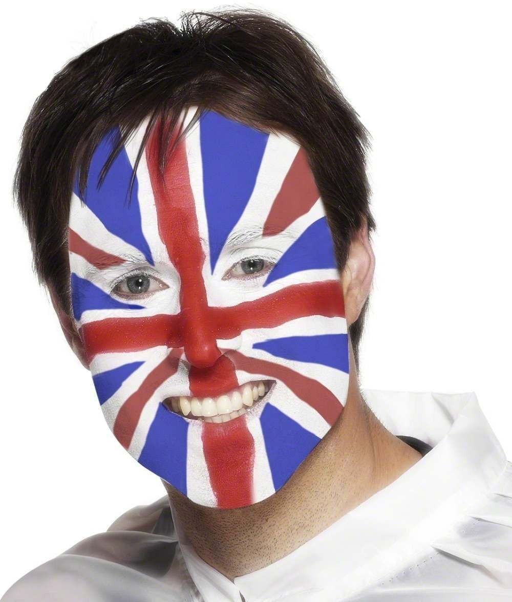 Union Jack Facepaints Fancy Dress