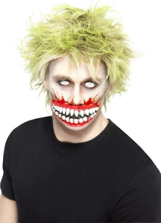 Big Mouth Mutilation, Latex (Fancy Dress Accessory)