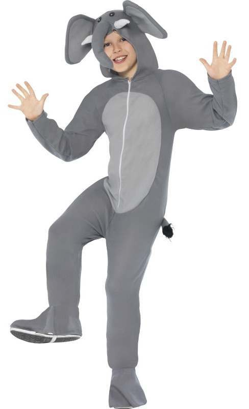Childs All In One Elephant Fancy Dress Costume
