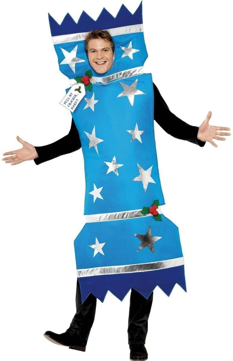 Christmas Cracker Fancy Dress Costume Mens Size 38-40 S (Christmas)