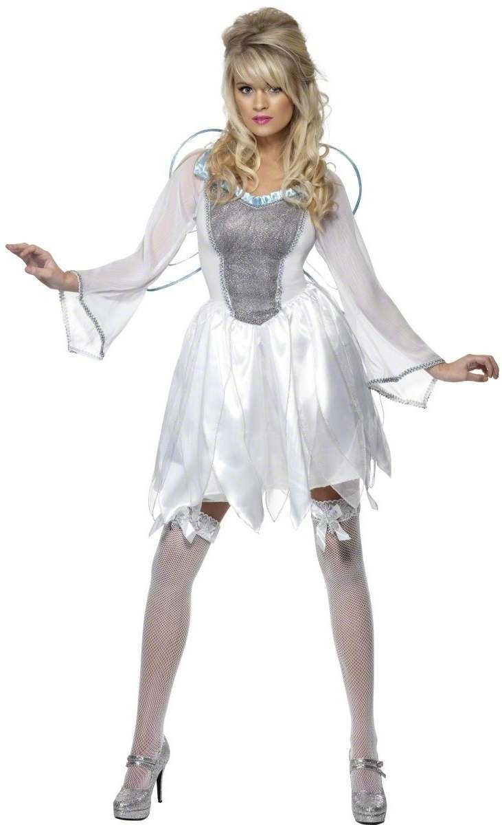 Winter Fairy Fancy Dress Costume Ladies (Christmas)