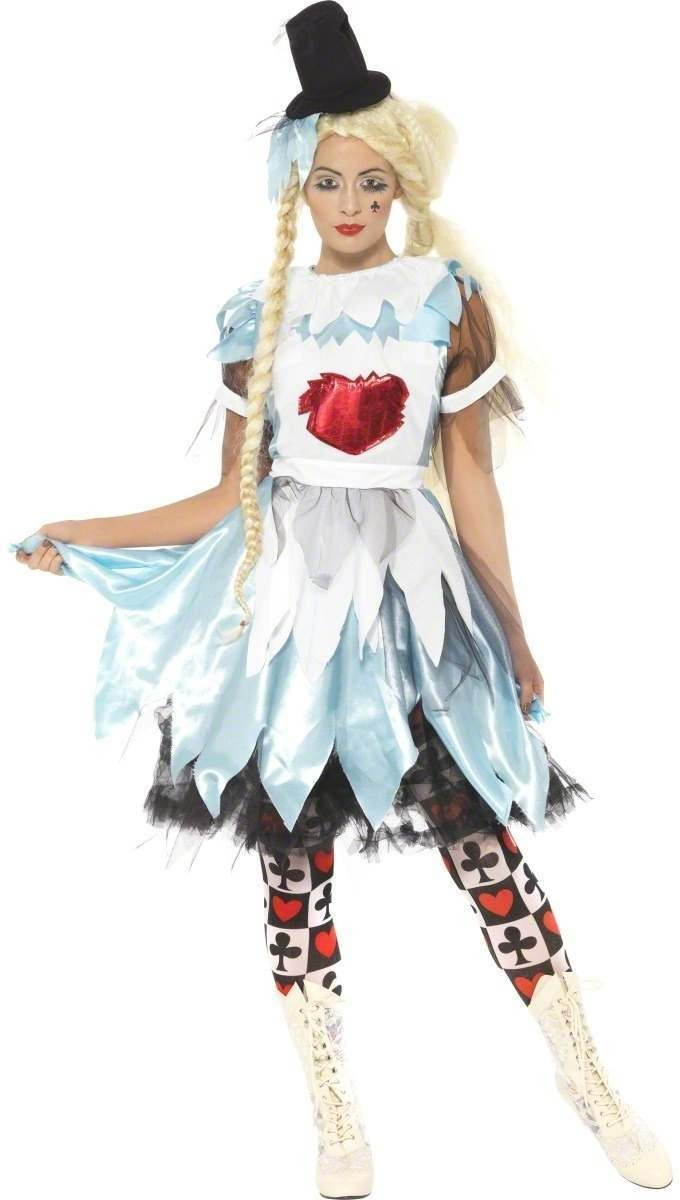 Alice In Blunderland Fancy Dress Costume Ladies (Fairy Tales)