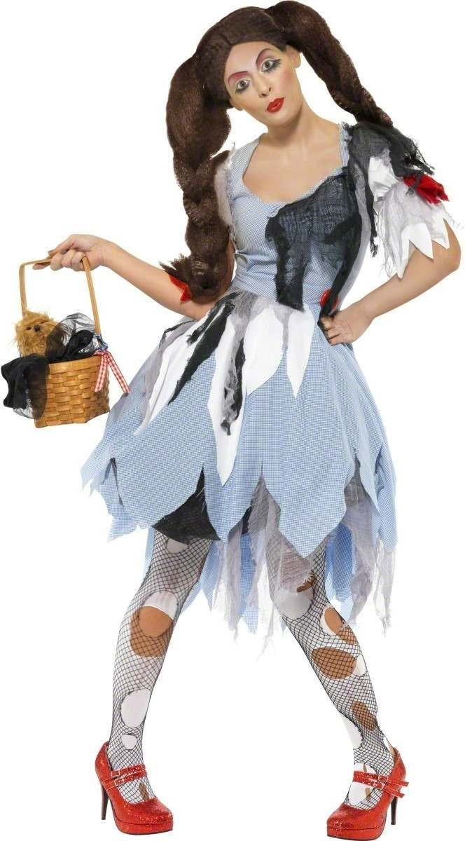 Deadly Dorothy Fancy Dress Costume Ladies (Halloween)
