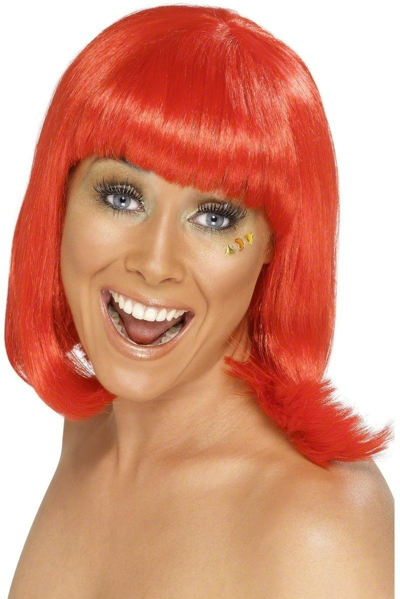 Party Wig Red - Fancy Dress Ladies