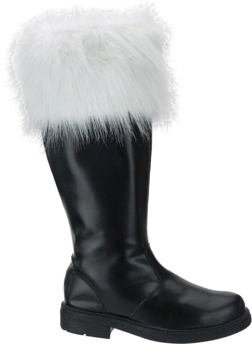 Santa Boots-Large - Fancy Dress Mens (Christmas)