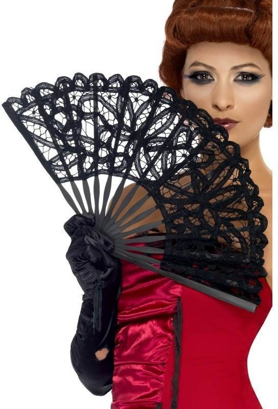 Gothic Fan (Halloween Fancy Dress)