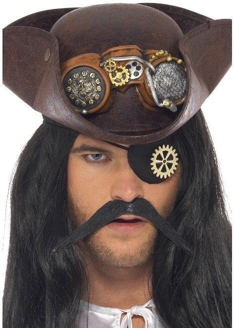Steam Punk Eyepatch (Halloween Fancy Dress)