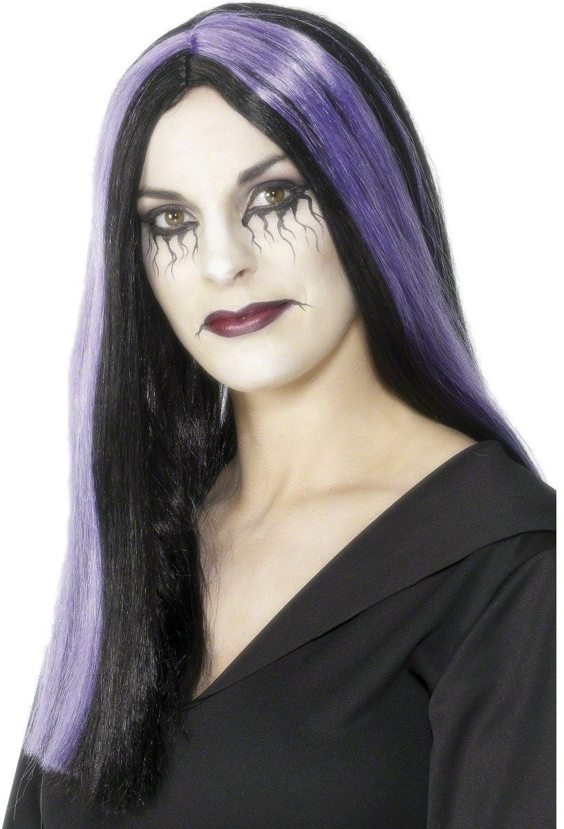Bewitched Wig - Fancy Dress Ladies (Halloween) - Black