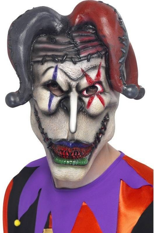 Latex Jester Mask (Halloween Masks)