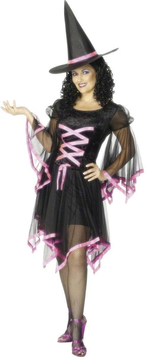 Winsome Witch Fancy Dress Costume Ladies (Halloween)
