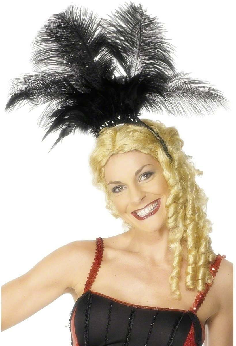 Can Can Girl Headpiece - Fancy Dress Ladies