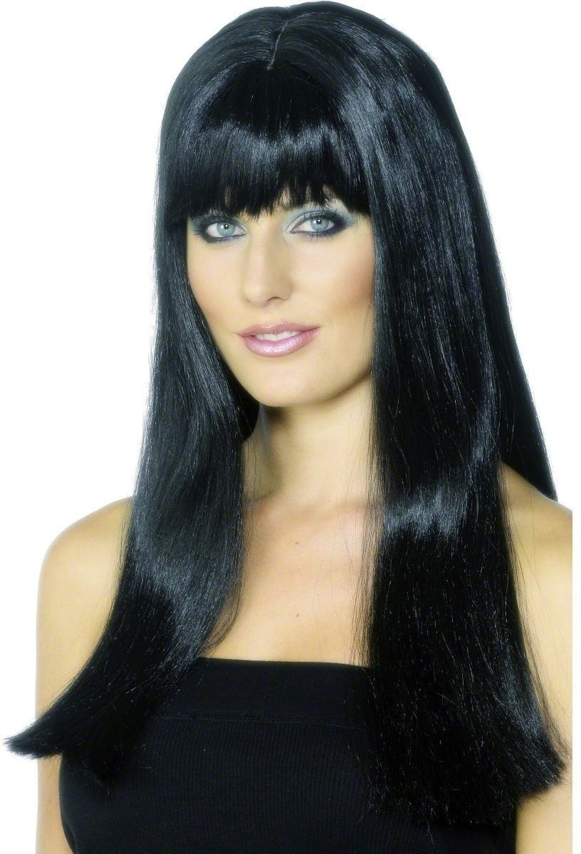 Mystique Wig - Fancy Dress Ladies -Black