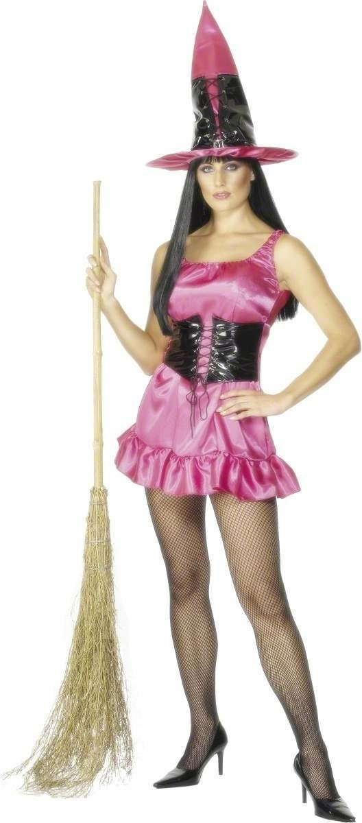 Sexy Witch Fancy Dress Costume Size 8-10 S Ladies (Halloween)