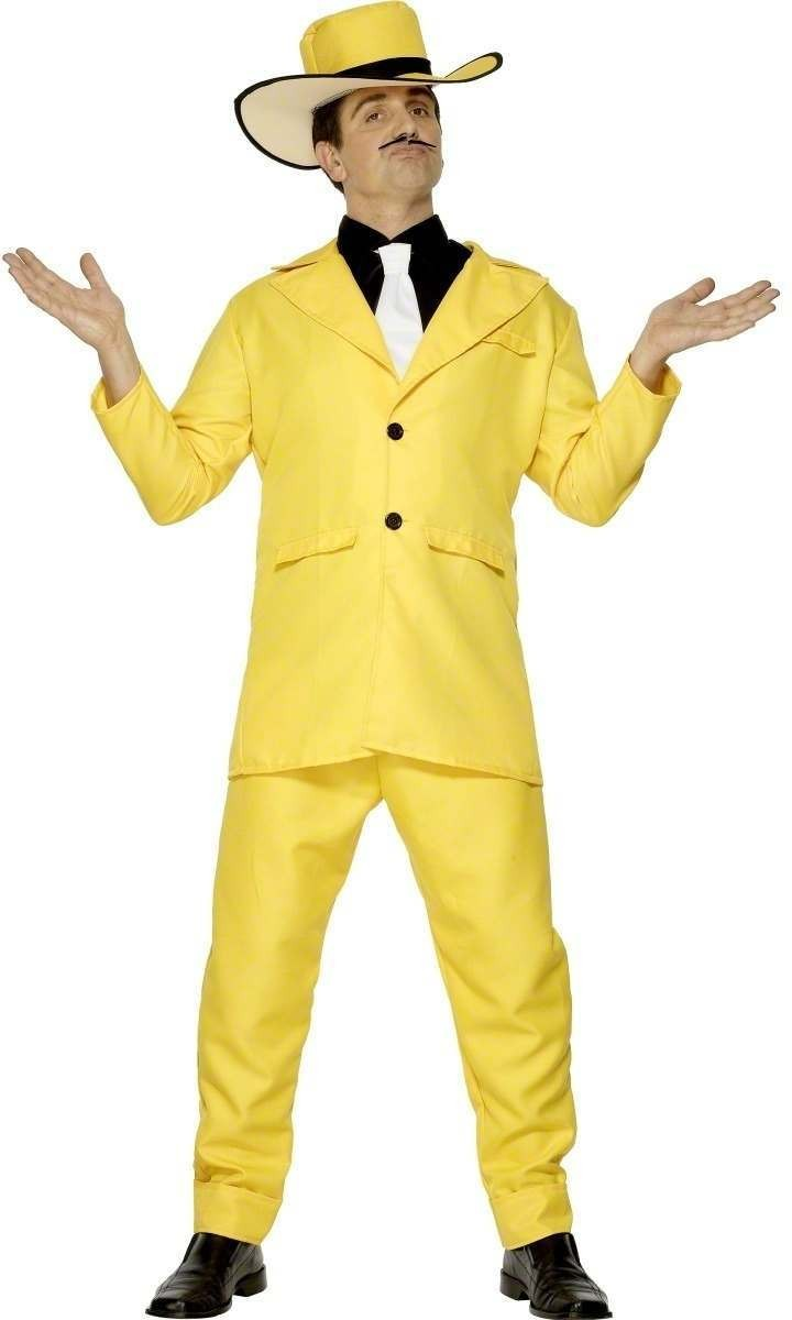 Zoot Suit Fancy Dress Costume Mens (Pimp)