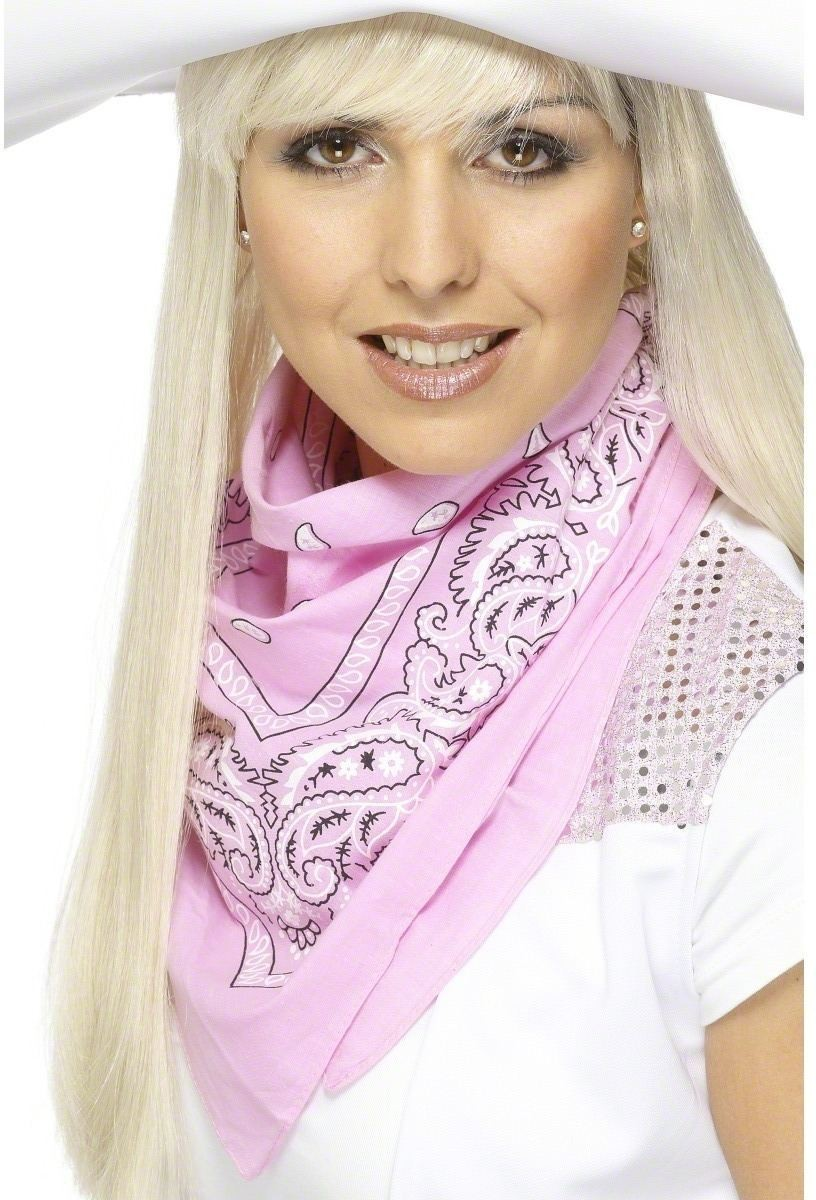 Cowgirl Western Bandana Neckerchief - Fancy Dress (Cowboys/Native Americans)