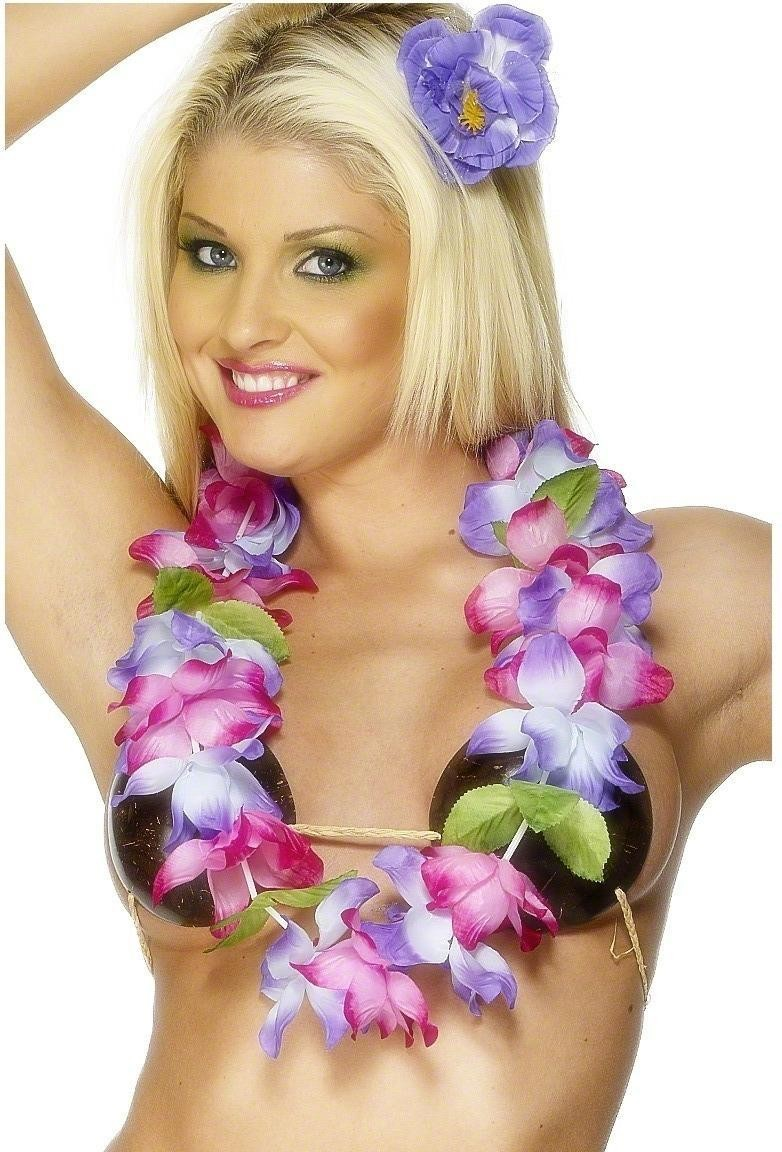 Hawaiian Lei - Fancy Dress Ladies (Hawaiian)