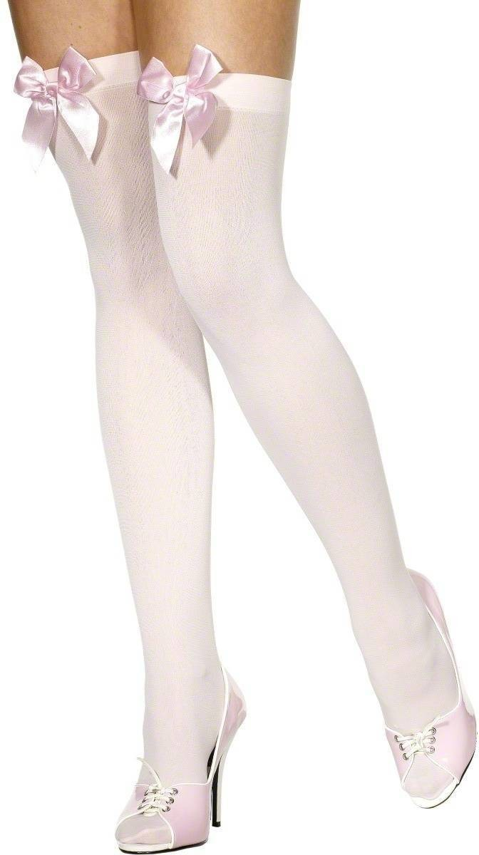 Thigh High Stockings Pink - Fancy Dress Ladies