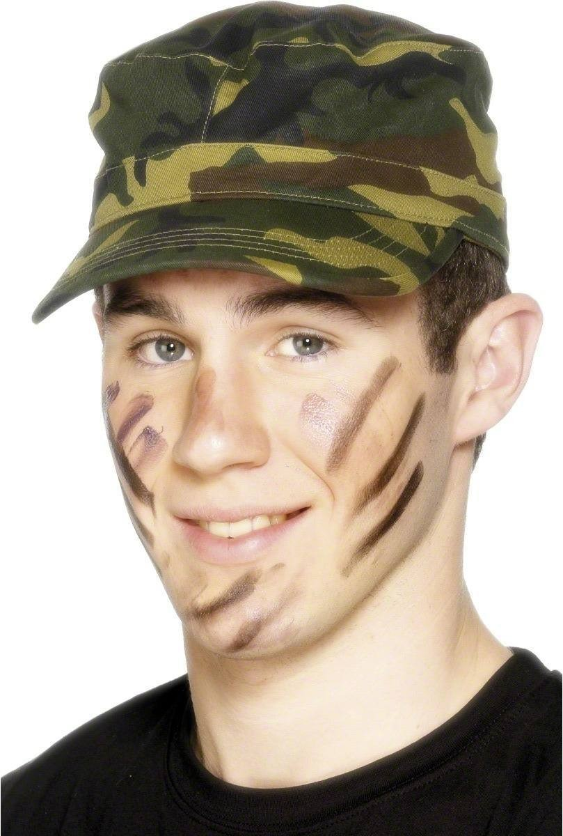Army Cap - Fancy Dress (Army)