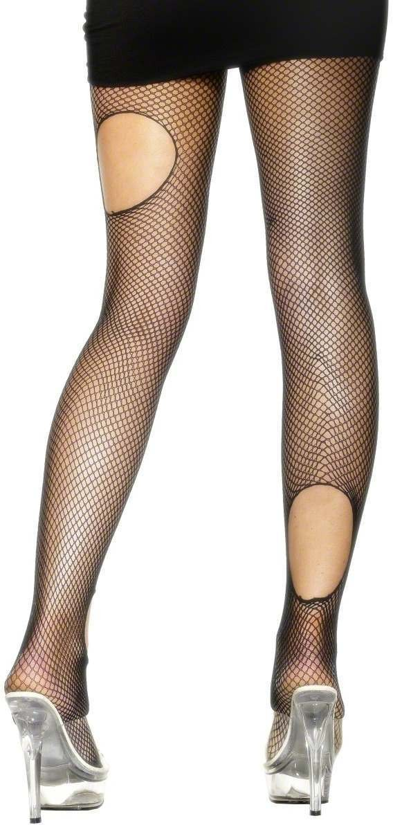 Fishnet Ripped Tights - Fancy Dress Ladies