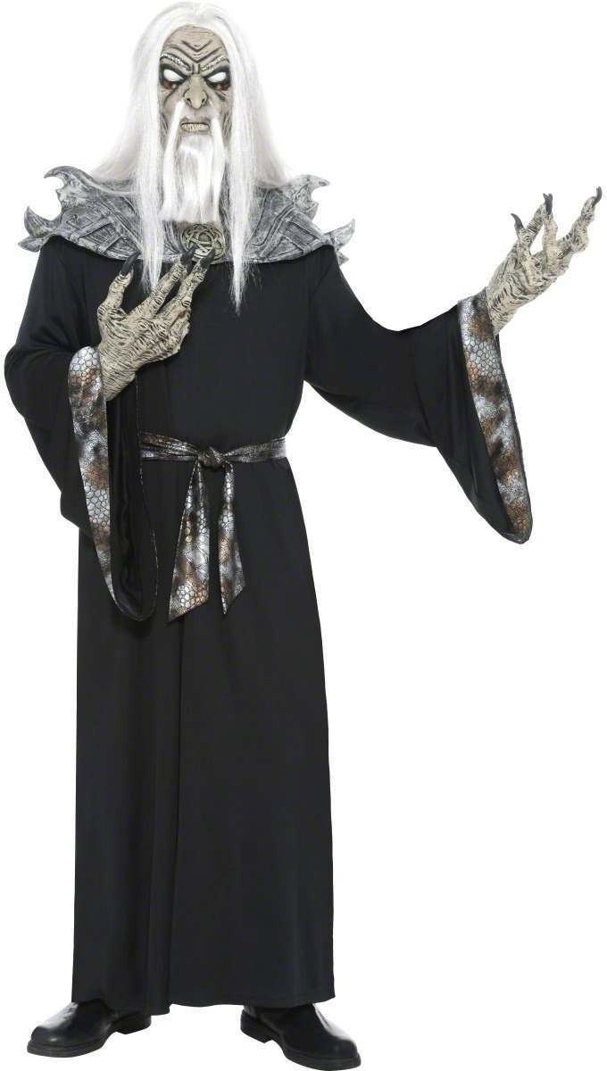 Sadistic Sorcerer Fancy Dress Costume Mens (Halloween)
