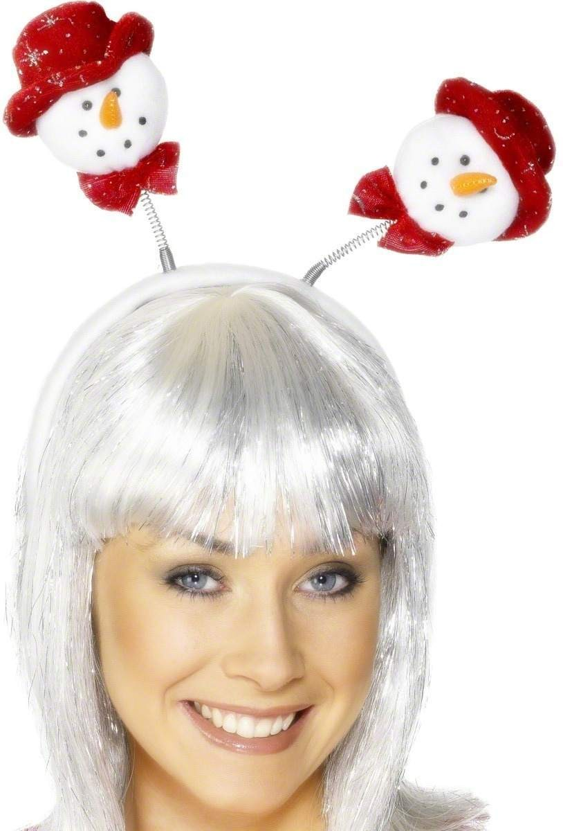Snowman Head Boppers - Fancy Dress (Christmas)