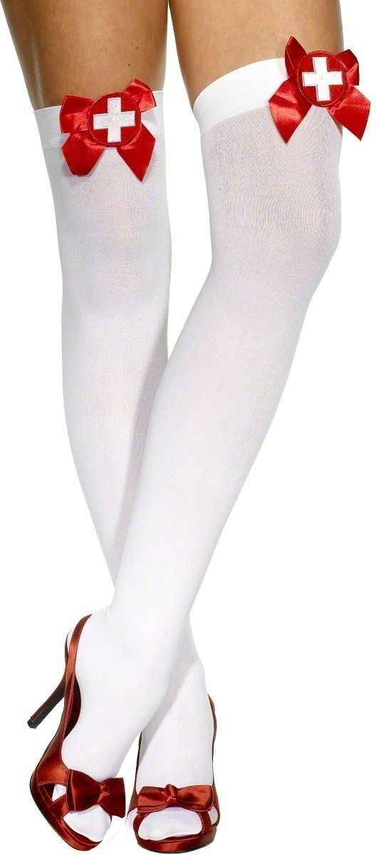 Thigh High Nurses Stockings - Fancy Dress Ladies (Doctors/Nurses)