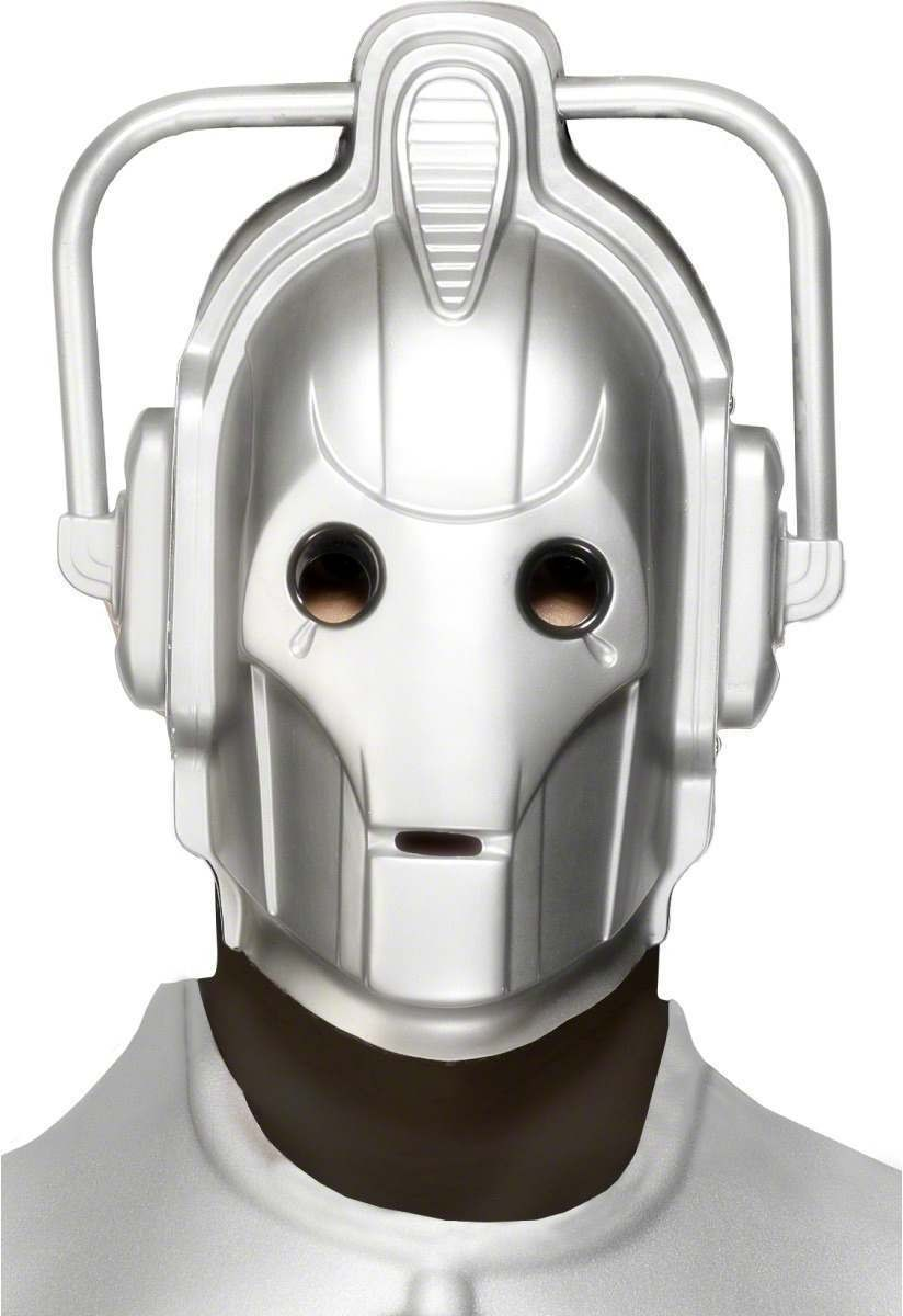 Cyberman Mask - Fancy Dress Mens (Sexy)