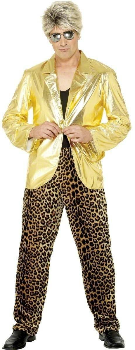 80S Icon Fancy Dress Costume Mens (1980S)