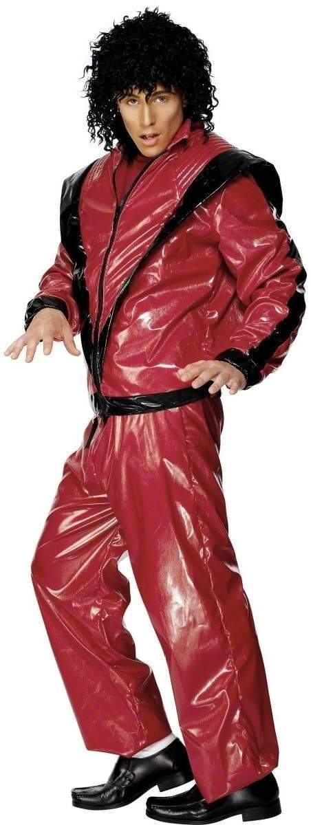 Michael Jackson Thriller Fancy Dress Costume Mens (Music)