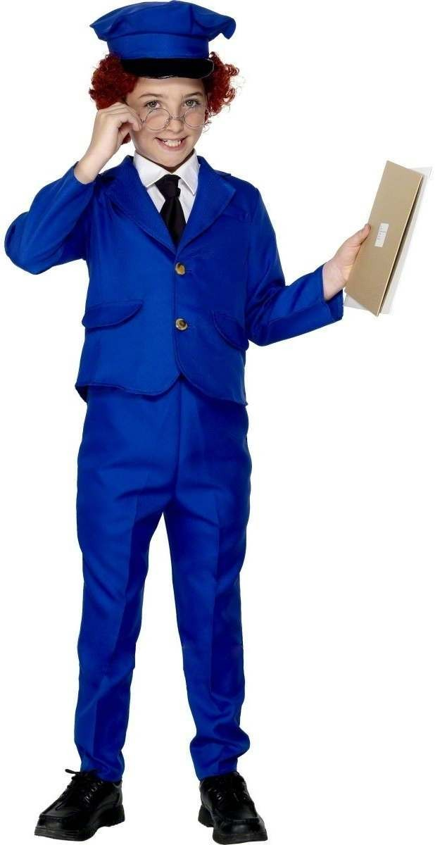 Postman Pat Fancy Dress Costume Age 4-6 Boys (1980S , Cartoon , Tv)